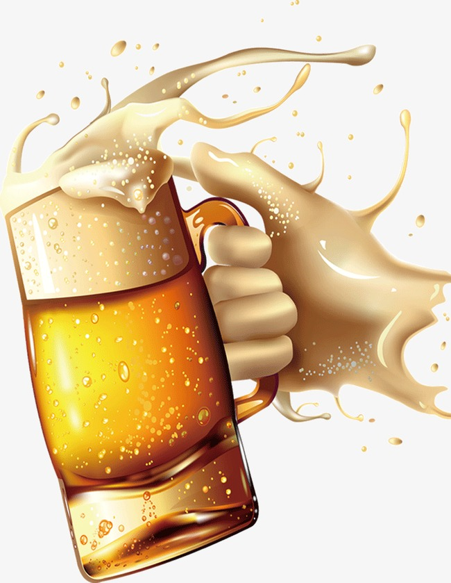 Beer clipart splash. Holding a mug splatter