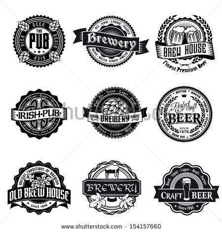 logo project pinterest. Beer clipart vector