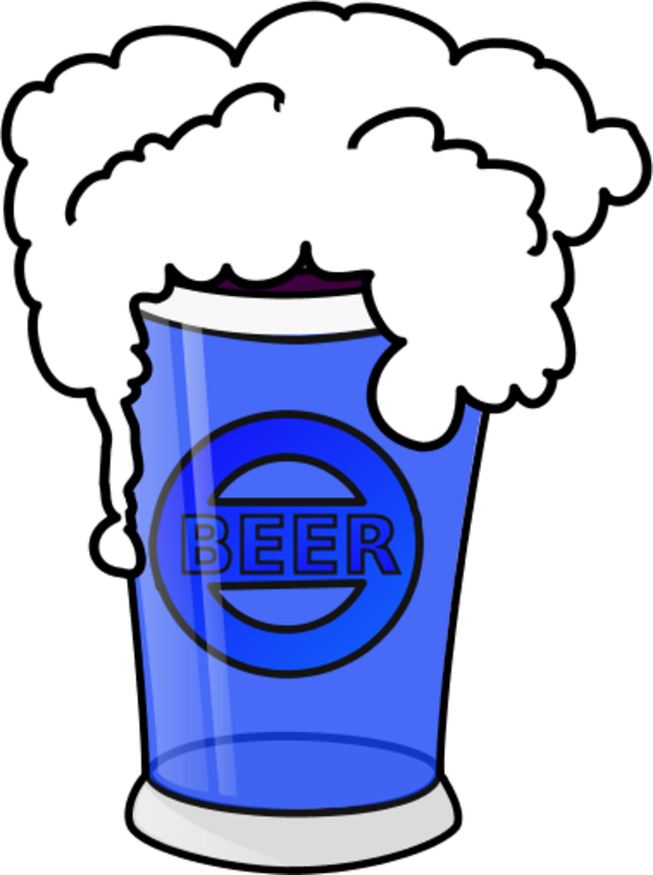 Glass clip art library. Beer clipart vector