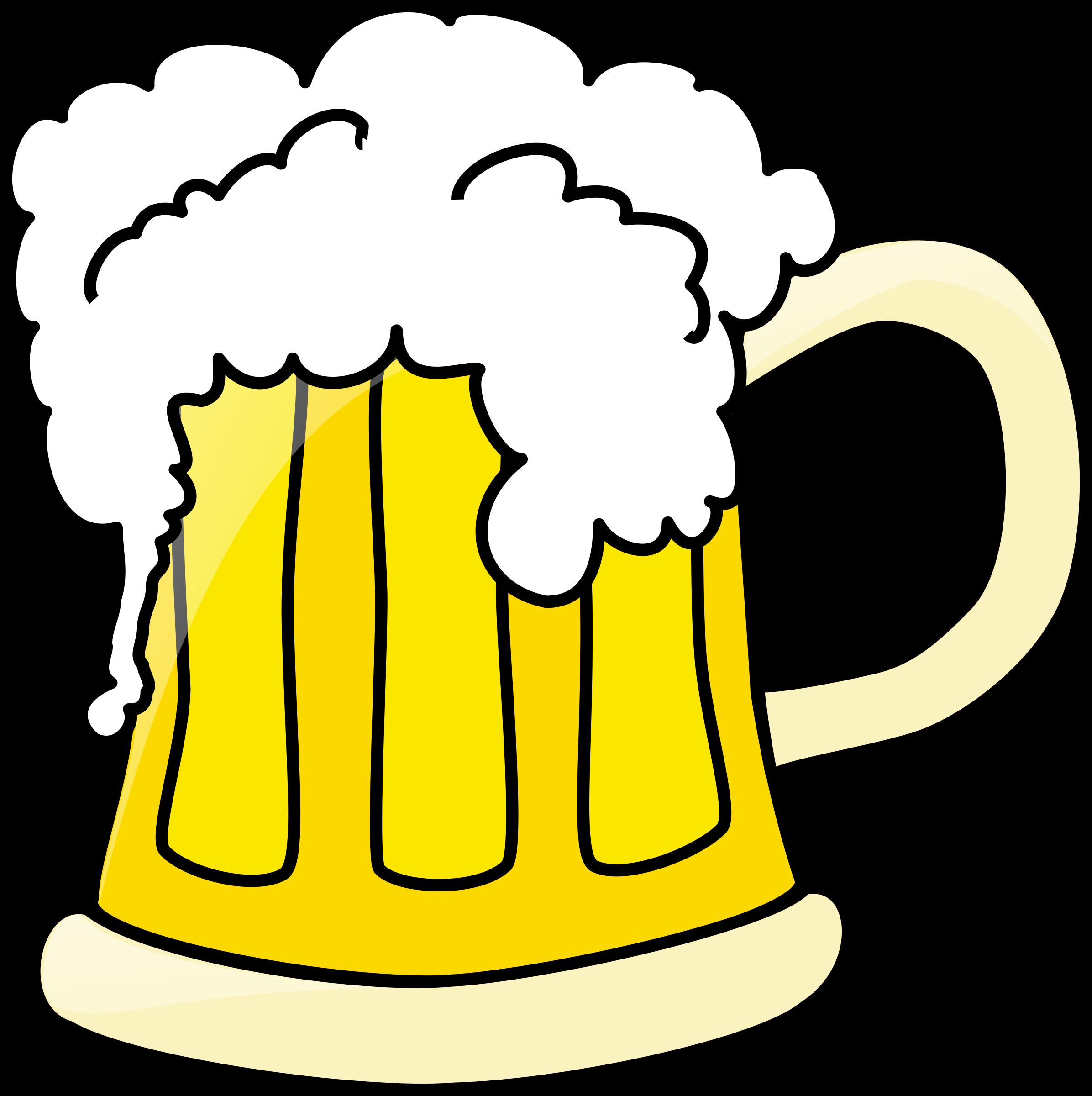 Beer clipart vector. Mug of illustration rh