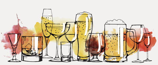 Beer clipart watercolor. When vodka and mix