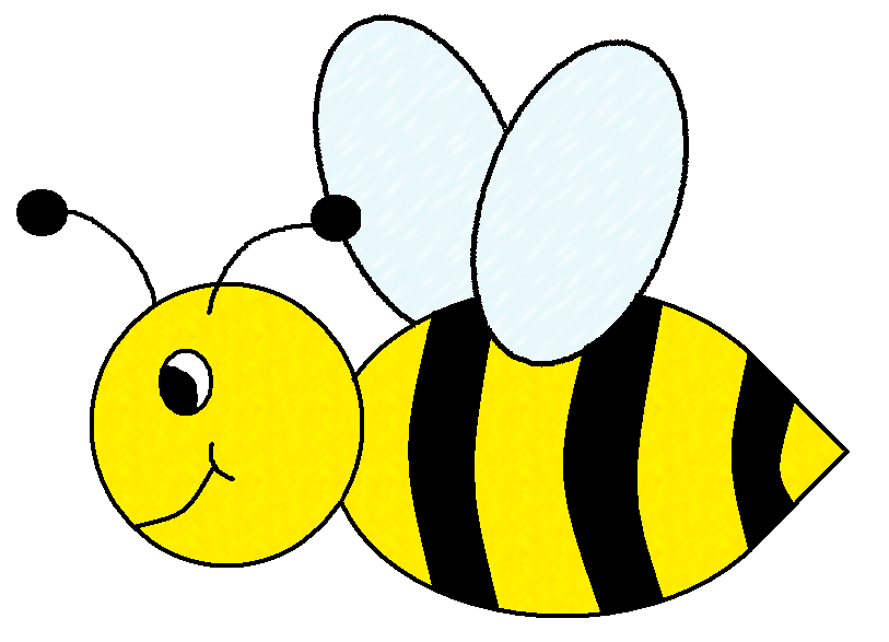 Bees clipart. Buzzing bee panda free