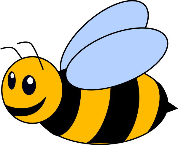 Bees clipart abeja. Bee clip art at