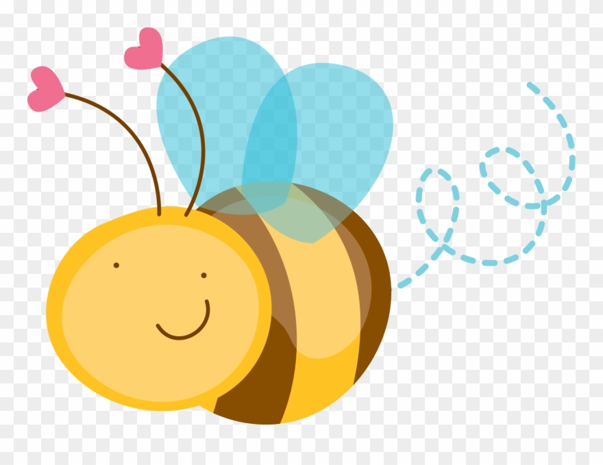 Bee template cute bumble. Bees clipart abeja