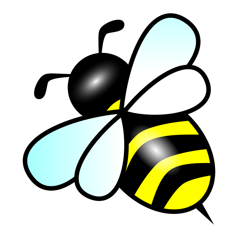 Bees clipart abstract. Bee free stock photo