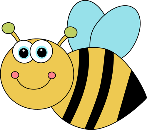 Cute cartoon bee clip. Bees clipart adorable
