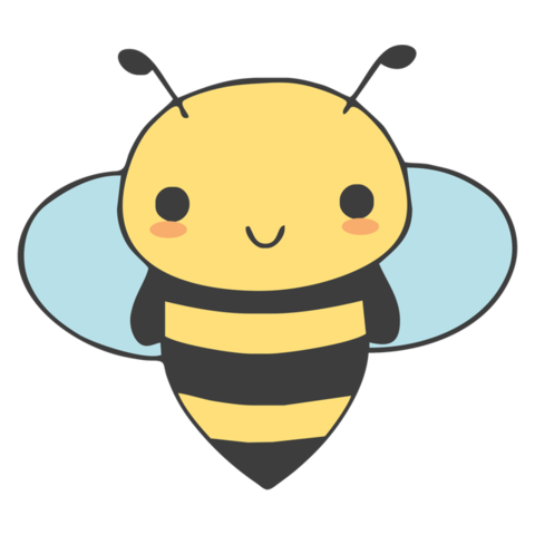 Bees clipart adorable. Cute and bee dizinga