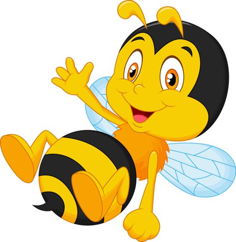Bees clipart animated.  best bee cartoon