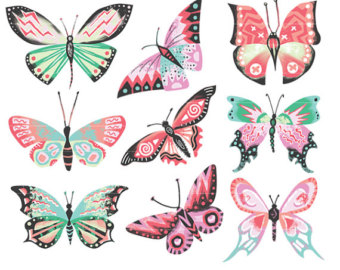 Bees clipart butterfly. Butterflies moths bee moth