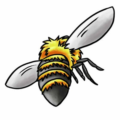 bees clipart carpenter bee #30603595
