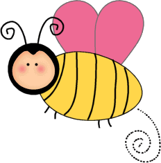 Bee clip art images. Bees clipart cute