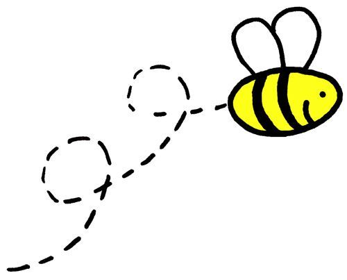 Image result for simple. Bees clipart easy