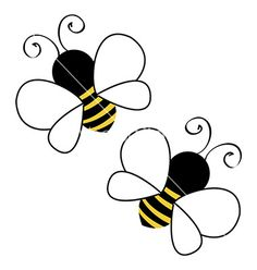 Bees clipart flying. Free cute bee clip