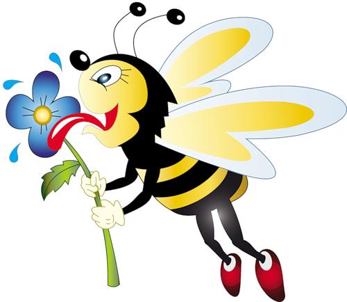 Abeilles abeja abelha png. Bees clipart ladybug