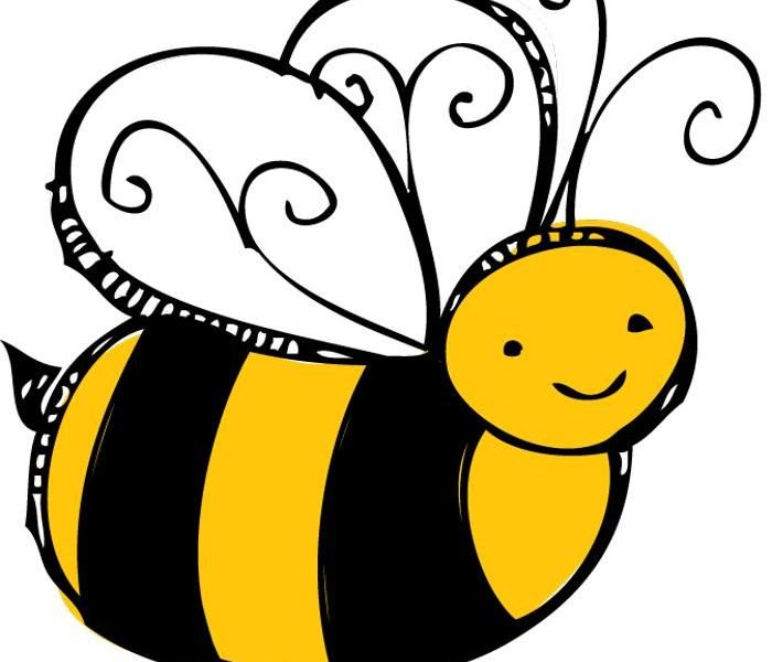 Vibrant free pictures of. Bees clipart pencil