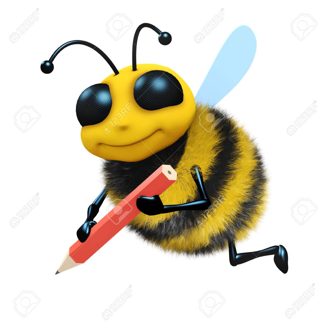 Bees clipart pencil. Honey bee drawing clip