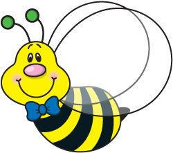 best clip art. Bees clipart printable