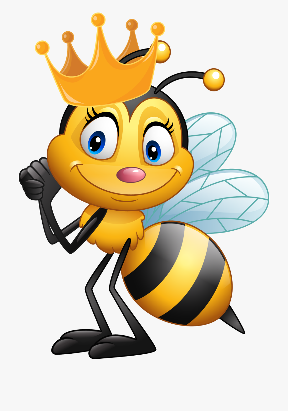 Gardens cartoon png free. Clipart bee queen bee