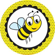 Clipart bee circle. Pin by valerie on