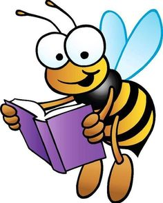 Bees clipart reading. Imagine similar cute pinterest