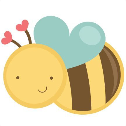 Bee clipart cute. Bees flying honey free