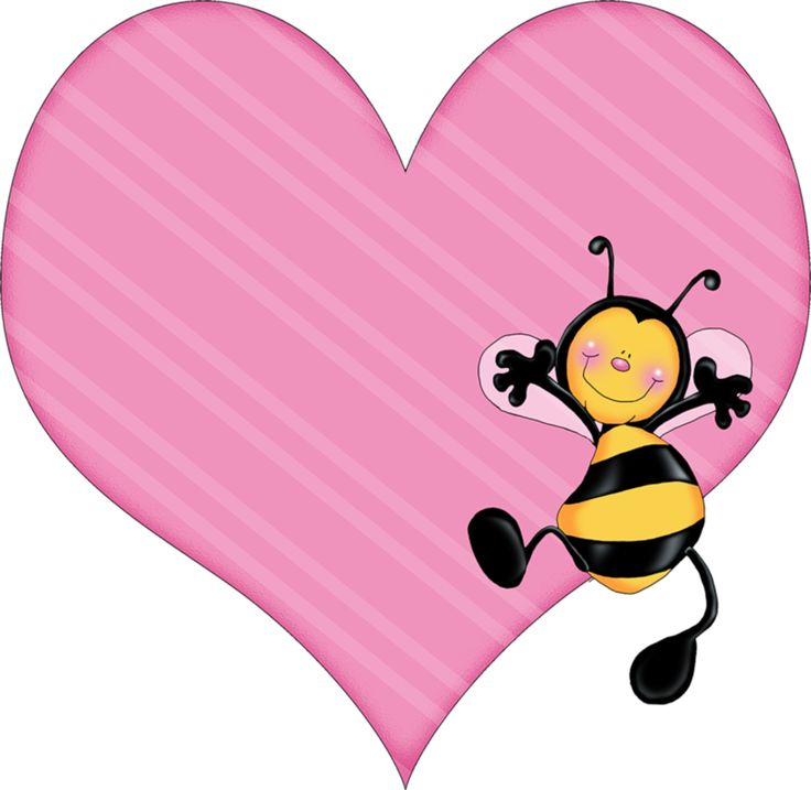best bee abejas. Bees clipart valentines day