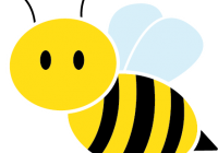 Bees clipart vector. Bee images clip art