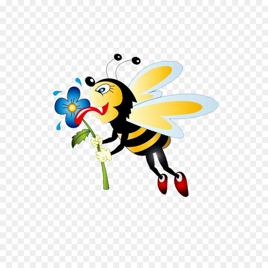 Honey bumblebee clip art. Bees clipart worker bee