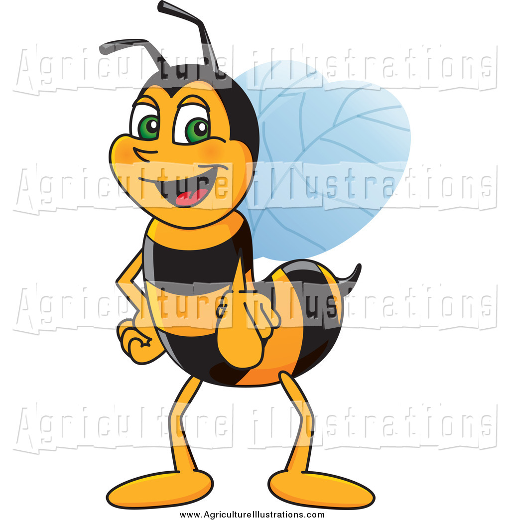 Bees clipart worker bee. Royalty free honey stock
