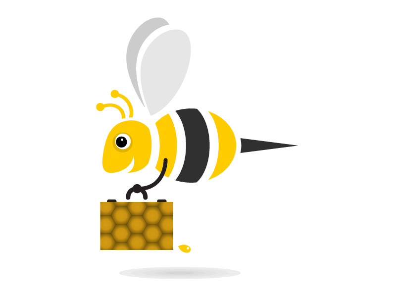 Bees clipart worker bee. Gsa aims to attract