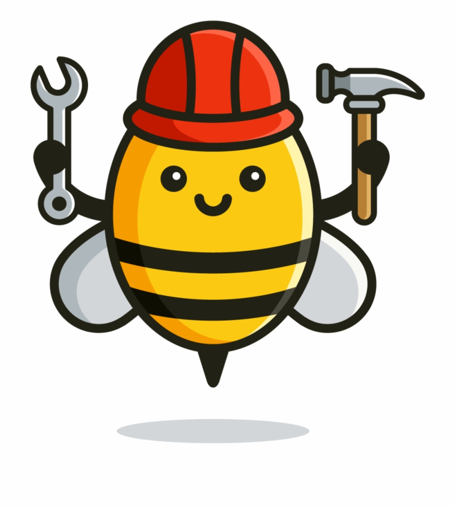 Bees clipart worker bee. Be my guest pngtube