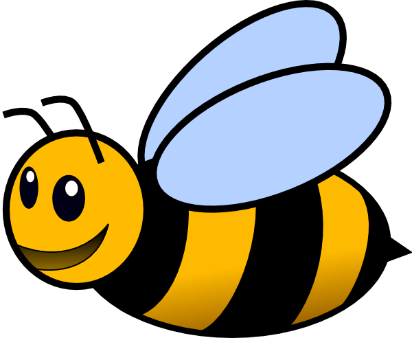 Bee clip art at. Bees clipart