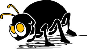 Cartoon bug insect clip. Bugs clipart animated