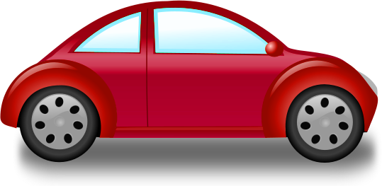 Red . Beetle clipart car