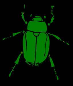 Clip art at clker. Beetle clipart green beetle