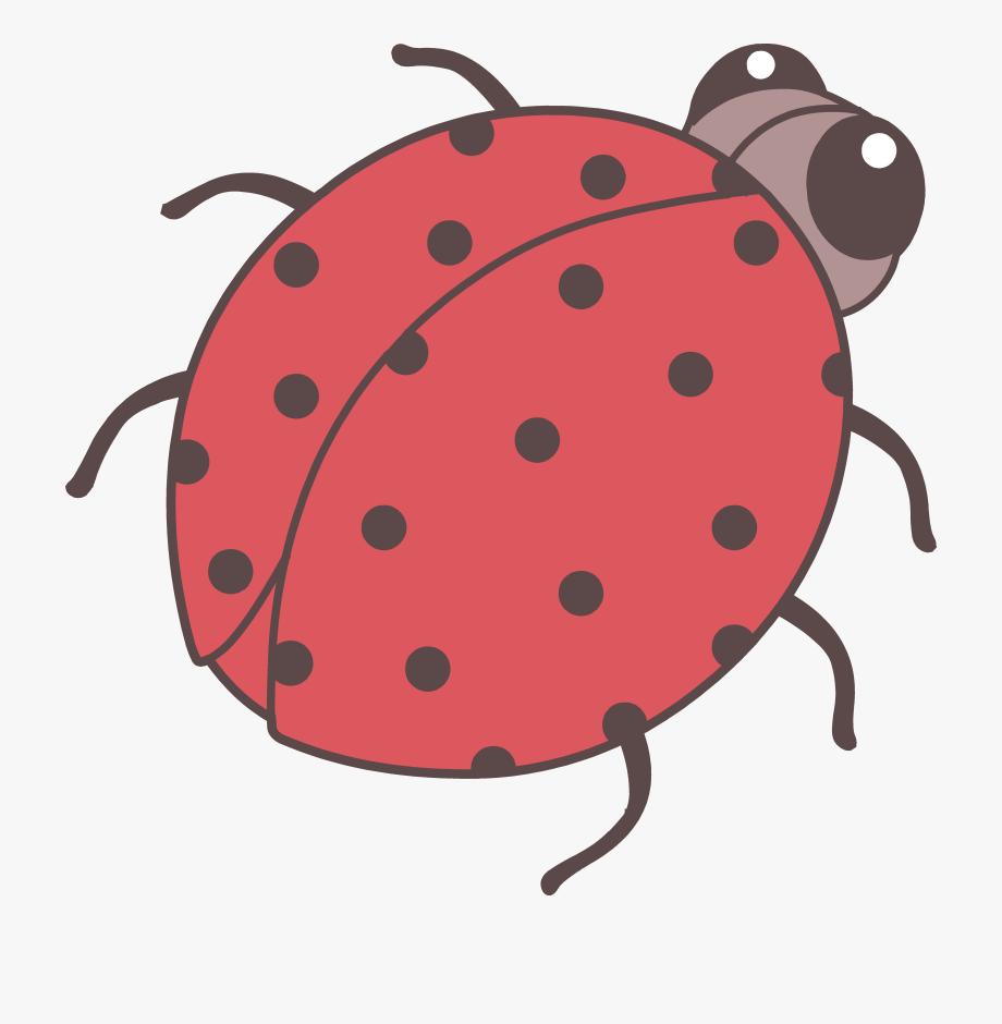 Ladybugs clipart junebug. Cute red ladybug clip