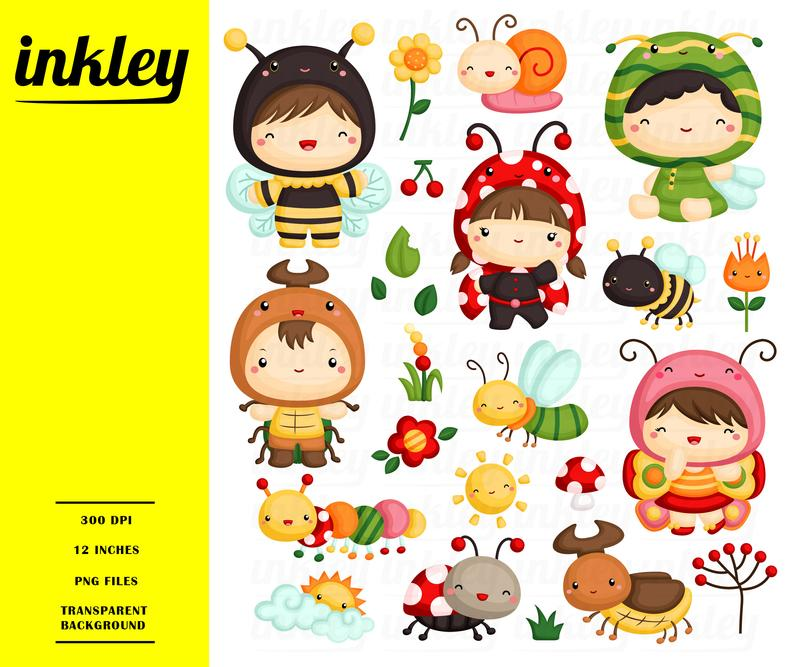 Bugs clip art png. Ladybugs clipart kid