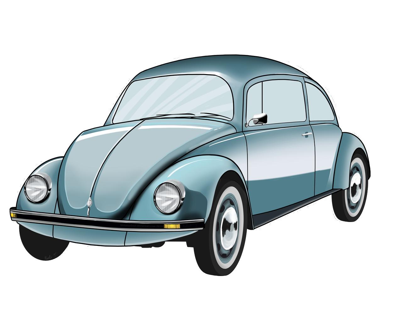 Clipart cars pencil. Volkswagen beetle blue png
