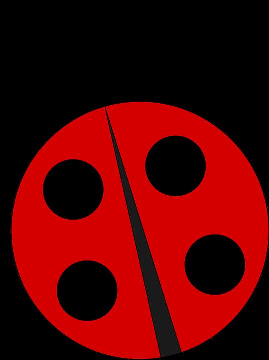 Imagen gratis en pixabay. Ladybug clipart l be for
