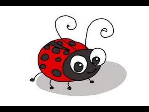 Beetle clipart simple. Drawn beetles ladybird free