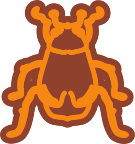 Beetle clipart stylized. Art clip at clker