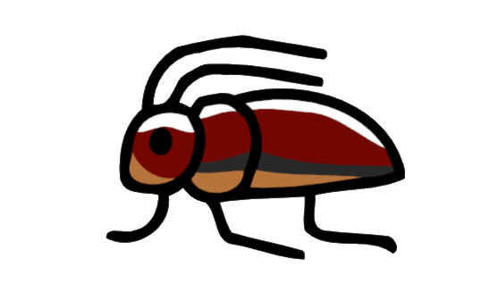 Bugs clipart water beetle. Image png scribblenauts wiki
