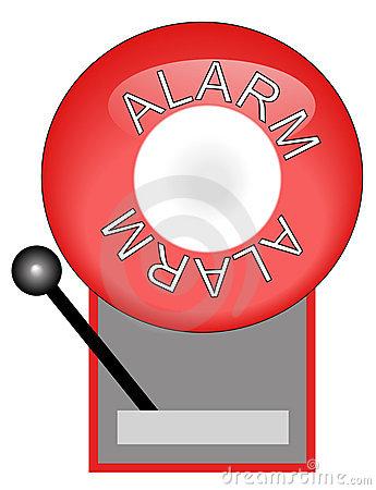 Fire . Bell clipart alarm