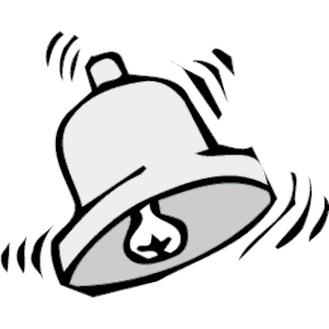 Bell clipart black and white. Free clip art download