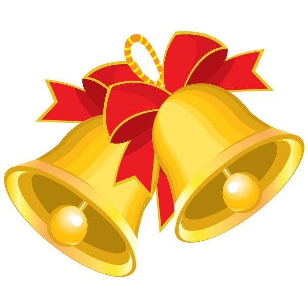 Bell clipart cartoon. Christmas bells cilpart awesome