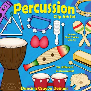 Drum clipart insturments. Musical instruments classroom percussion