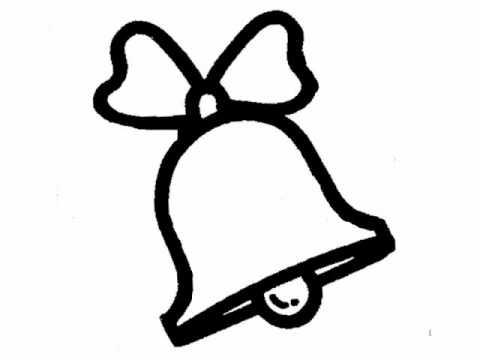 Bell clipart easy. Bible cartoon drawing jingle