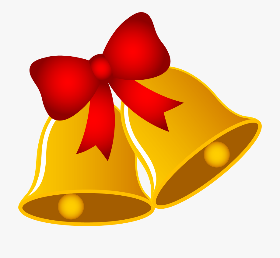 Bow christmas bells images. Bows clipart xmas
