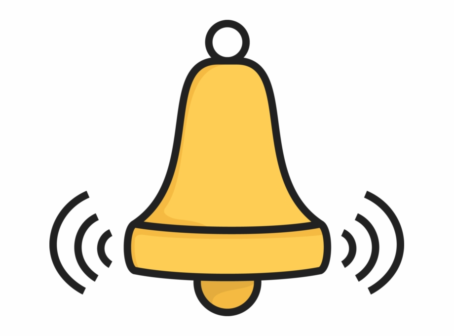 Cliparts emoji . Bell clipart ringing bell