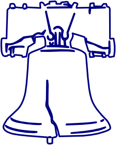 Liberty drawings how to. Bell clipart sketches